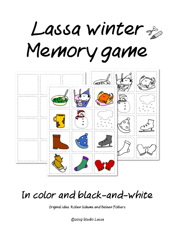 Create and play a Winter Memory Game