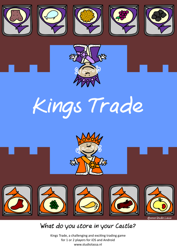 Kings Trade Poster and coloring page